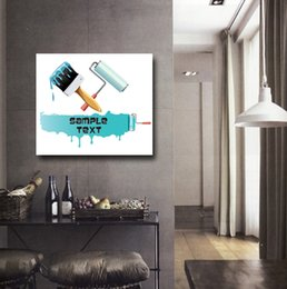 $enCountryForm.capitalKeyWord Canada - Free shipping 1 Piece unframed picture free shipping Canvas Prints Cartoon like food brush Drops of water Oil Painting yacht
