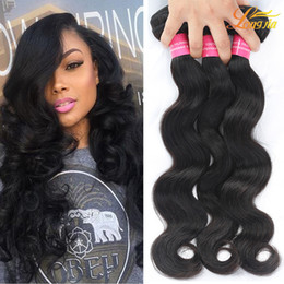 Wavy hair perm online shopping - Unprocessed Brazilian Human Hair Extensions Body Wave Wet And Wavy Brazilian Body Wave Weft Dyeable Cheap Mink Virgin Human Hair Body Wave