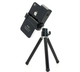 Wholesale Universal Rotatable Tripod Holder Stand Mount for iPhone s Gs Mobile Phone