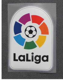 16 17 New Liga LFP soccer patch Spanish League 2016-2017 football Shirt Badges Football big Patch Free shipping! on Sale