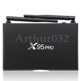 metal android tv box 2019 - Amlogic S905X X95 PRO Metal Android 6.0 TV BOX Quad Core Marshmallow 1G 8G 4K Wifi HDMI 2.0A VP9 H.265 Smart Media Playe