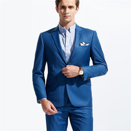 Royal Blue White Prom Suit Online | Royal Blue White Prom Suit for ...