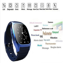 smart watch samsung NZ - M26 Smart Watches 2016 Bluetooth Controll for iPhone 6 6S Samsung S5 S4 Note 3 HTC Android Phone Smartwatch for Women Men Wholesales