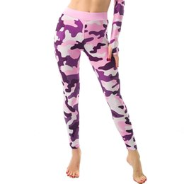 Sex Yoga Pants UK - New Move Sex High Waist Stretched Sports Pants Gym Clothes Spandex Running Tights Women Sports Leggings Fitness Yoga camouflage print trouse