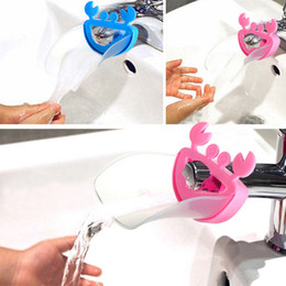 Wholesale Cute Novelty Crab For Kid Toddler Bathroom Sink Washing Hands Faucet Extender Helper Tool