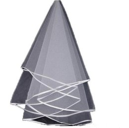 2017 Veil For Bridal завесы Лента Edge Tulle One Layer Wedding Veil Without Comb 1.5 Метры Дешевые белые слоеные вуали