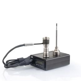 Gros Enail D nail Dnail boîte de contrôleur de température électronique Pour DIY Smoker E Clou Bobine avec Ti Clou pour verre bong en Solde