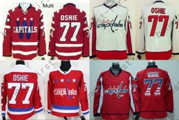 Chinese  Men's 2016 New Washington TJ Oshie Hockey Jerseys 77 T. J. Oshie Jersey Home Red Winter Classic Cheap TJ Oshie Stitched Jersey manufacturers