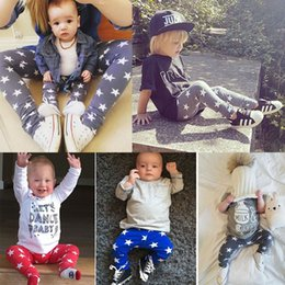 $enCountryForm.capitalKeyWord Canada - 2016 Newborn boys girls pants 6 12 18 24 Months PP Baby boy Girl 3 colors stars Trousers fahsion cotton Leggings Full Length kids cotton set