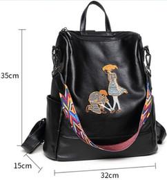 korean bow bags 2019 - Backpack shoulder bags wholesale Multifunctional bag original designer classical embroidery handbag artwork women purse