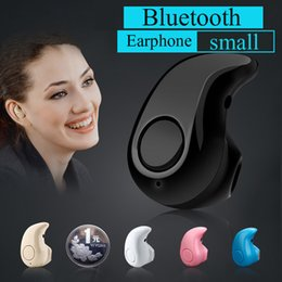 $enCountryForm.capitalKeyWord Canada - S530 Mini Wireless Small Bluetooth Earphone Stereo Light Stealth Headphone Headset Earbud With Mic Ultra-small Hidden Universal EAR191