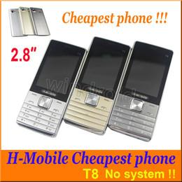 $enCountryForm.capitalKeyWord Canada - Cheap 2.8 inch H-mobile T8 Dual SIM Mobile Not smart phones 2G Unlocked Quad Band Camera Flashlight Facebook Cell Phone Free Shipping 10pcs