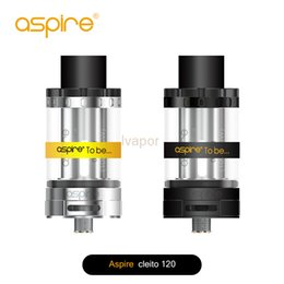 aspire kit NZ - Clearance !!! Aspire Cleito 120 Tank Kit Filling Aspire Cleito 120W Vape tank Free DHL shipping 100% authentic