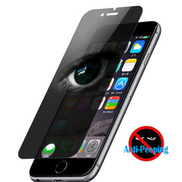 $enCountryForm.capitalKeyWord NZ - Privacy Anti-Spy Glass For iPhone 7 8 6 6S Anti-Peeping Film Screen Protector For iPhone 8 6Plus 5 5S SE 5C Anti-glare Tempered Glass