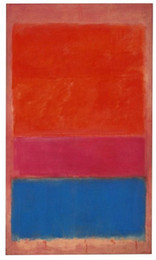 rothko paintings Australia - Mark Rothko Number 1 High Quality Handpainted Art Oil Painting On Canvas Multi sizes Available Free Shipping berkPr112