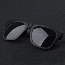 $enCountryForm.capitalKeyWord NZ - Free Shipping Retro Vintage Mens Womens 80's Unisex Black Lens Sunglasses Cheap sunglasses blue lens
