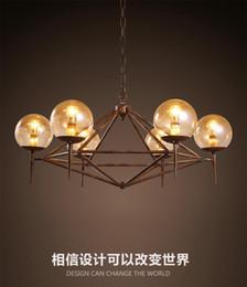 $enCountryForm.capitalKeyWord NZ - 2016 new design vintage industrial LED glass pendant America style restaurant clothing coffee decoration Iron DNA modo magic pendant light