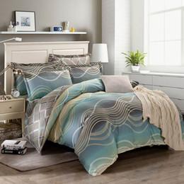 $enCountryForm.capitalKeyWord Canada - 2016 new style luxury 100% cotton bedding set fashion modern style bed sheet   duvet cover   pillowcase 4pcs  set Home textile free shipping