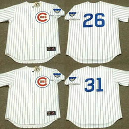 9fd3ce272 ... Cheap 26 BILLY WILLIAMS 31 FERGUSON JENKINS Chicago Cubs 1969 Throwback  Home Baseball Jersey stitched ...