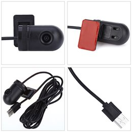 car front shocks 2019 - Mini Front USB Port In-car Camera for Android System Anti-shock And Water-resistant Universal Q9 140 Degree Viewing Angl