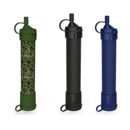 Sobrevivência Personal Water Filter para Camping, Caminhadas, Mochila e Prepping. O purificador portátil é livre de BPA e leve. Filtração em Promoção