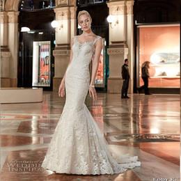 Tulle Trumpet Style Wedding Dresses Online Trumpet Style Wedding