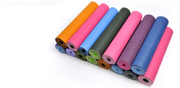 $enCountryForm.capitalKeyWord Canada - 2015 free shippping new hot on sale 3Size 7color eco-friendly environmental TPE yoga mats pilates fitnes yoga blanket dance mats