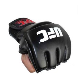 $enCountryForm.capitalKeyWord Canada - Muay Thai MMA Boxing Gloves Sandbag Punch Pads Hand Target Focus Training Circular Mitts for Kick Fighting