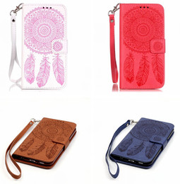 $enCountryForm.capitalKeyWord UK - Wallet Leather Case Dream catcher For Samsung Galaxy NOTE 8 S8 S7 S6 EDGE Iphone X XS MAX XR SE 5 5S 6S 6 8 7 Plus I7 Stand Strap Skin Cover