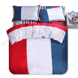 Wholesale 20 sleek minimalist home bedding soft and comfortable printed mocha cotton four-piece set queen size 4 piece set 8258