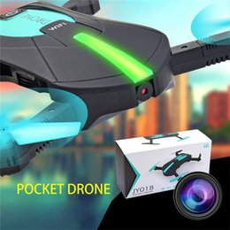 Helicopters Toys Camera Australia - Mini Selfie Drone JY018 WIFI Remote Control Helicopter Foldable Quadcopter Drones with 0.3MP Camera Pocket Quadcopter RC Helicopter Toys