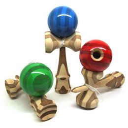 18.5 см игрушки бамбука кэндама японская традиционная деревянная игра детские игрушки из бамбука бесплатная доставка NEW на Распродаже