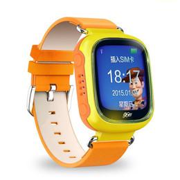 Digital Wrist Gps Canada - 2016 Luxury Bluetooth Smart Watch Fashion Wrist Smartwatch children Wristwatch Wearable Digital Device for IOS GSM GPS positioning Q70