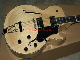 Опт Природные классический джаз электрогитара новое прибытие Оптовая гитары лучшие гитары высокого качества