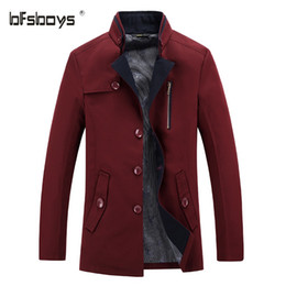 Discount Mens Red Wool Overcoat | 2017 Mens Red Wool Overcoat on ...