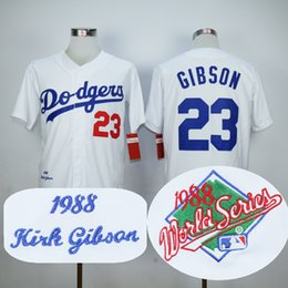 1abe17a9b ... italy cream mitchell ness jersey men los angeles dodgers jerseys 23  kirk gibson jersey flexbase cool