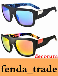 Wholesale new options sports online – oversize THE Decorum style Promotion color options Brand New sunglasses women brand designer glasses Vintage Goggle coating sun glasses HOT