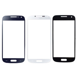 $enCountryForm.capitalKeyWord UK - Front Touch Screen Outer Glass Lens Replacement Part for Samsung Galaxy S4 mini i9190 White Blue Black