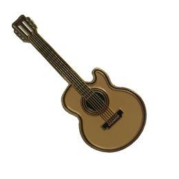 Dhl Free Guitar UK - Free DHL Shipping China Wholesale High Quality Custom Small Violin Guitar Pin Metal Badges as Giveaway Gifts