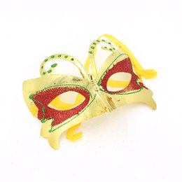$enCountryForm.capitalKeyWord UK - 5 Colors Butterfly Party Mask Masquerade Mask Dance Mask Half Face Mask for Most Women Girls Costume for Halloween Christmas Day
