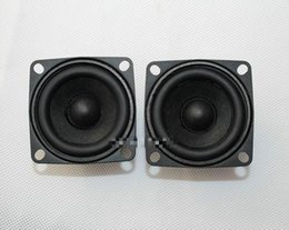 $enCountryForm.capitalKeyWord Australia - Wholesale- 2Pcs Tweeter Loudspeaker Full-Range Speakers Hifi Frets Mini Speaker Box Multimedia Wei Magnetic Speaker 2 Inch 4 Ohm
