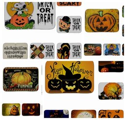 Halloween Doormat Shower Carpet Non Slip Floor Doormat Floor Mats Hall Rugs  Kitchen Bathroom Carpet Outdoor Rugs Dust Home Décor MAT KKA3016 Halloween  Rugs ...