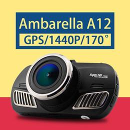$enCountryForm.capitalKeyWord NZ - Ambarella A12 Car DVR Super HD 1440P Car Camcorder GPS Black Box DVR 170 Degree View Angle Lens Night Vision Dash Cam D201