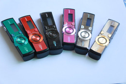 Usb Pen Mp3 Player Radio Canada - 2016 High Quality Sport Mp3 player NWZ-172 mp3 players 8GB with clip + FM Radio pen USB Flash MP3 player