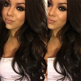 ombre full lace wigs Australia - Brazilian Hair Magic Body Wave Full Lace Human Hair Wigs  Lace Front Wigs  Cheapest Full Lace Wig For Black Women