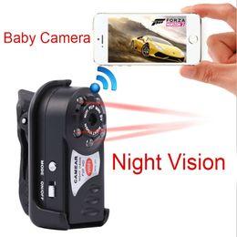 Mini Wireless Hd Wifi Ip Kamera Q7 Surveillance Kamera Video Cam Recorder IR Nachtsicht für Iphone Android Phone Tablets Mini Auto DVR