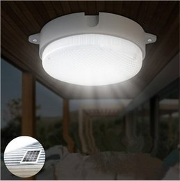 Awesome Solar Lights Garden Wall Lamps Solar Powered 9 LED Ceiling Lighting Outdoor  Solar Street Light With IR Remote Control