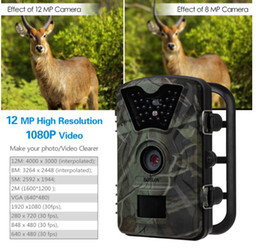 Trail Camera Hunting Game Camera CT008 Infrared Night Version, 2.4 inch LCD Screen, PIR Sensors, IP54 Spray Water Protected design out242 from hd infrared wide angle camera manufacturers