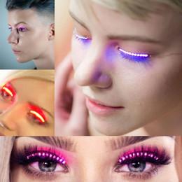 $enCountryForm.capitalKeyWord NZ - 7 Colors LED Eyelashes Eyelid False Eyelashes for Saloon Pub Club Bar Party Halloween Eye Makeup
