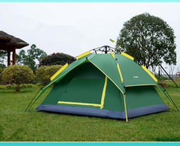 Tent Types NZ - Camping SheltersTent Opening Hydraulic Automatic Tent Camping Shelters Waterproof Sunny Double-deck Protective Outdoors Tents for 3-4 Person